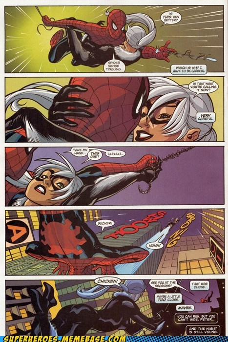 black cat self control Sexy Ladies Spider-Man Straight off the Page - 6050413824