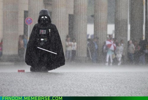 cosplay darth vader rain star wars - 6050487552