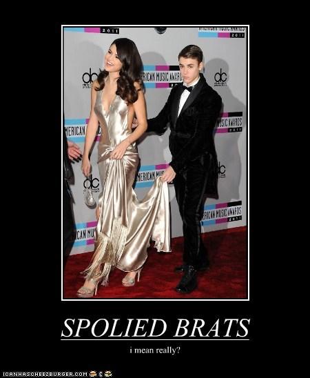 SPOLIED BRATS i mean really?