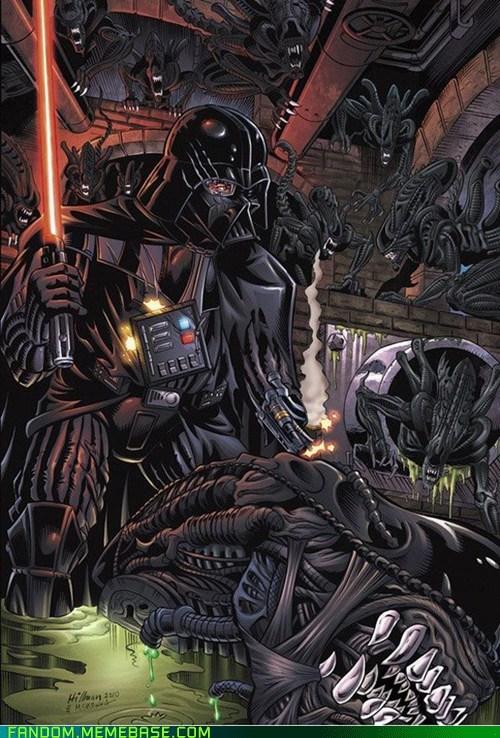 alien Fan Art movies scifi star wars - 6050882048