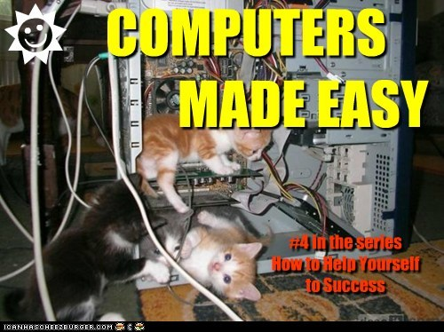 COMPUTERS MADE EASY #4 in the series How to Help Yourself to Success R J