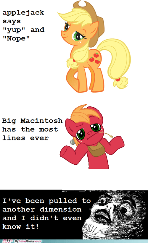 applejack big mac journalism new episode ponies - 6052722432