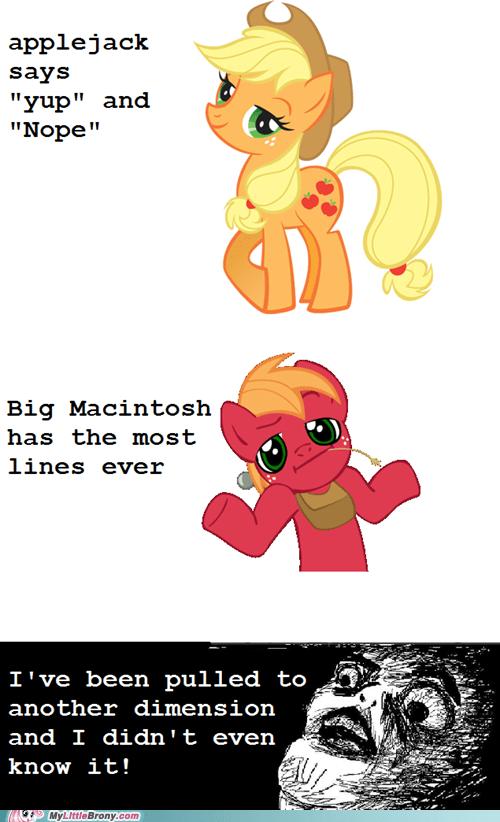 applejack big mac journalism new episode ponies - 6052722432