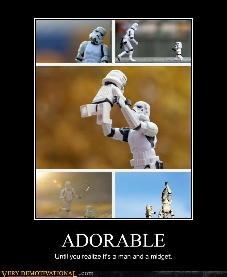 adorable hilarious midget stormtrooper - 6053275136