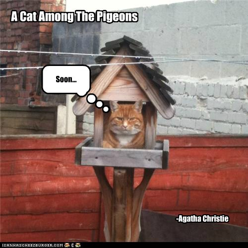 A Cat Among The Pigeons -Agatha Christie Soon...
