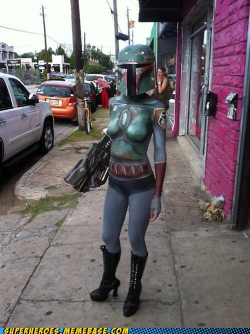 boba fett Sexy Ladies star wars Super Costume - 6053760000