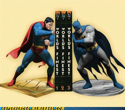 batman book ends DVD Random Heroics superman - 6053769984