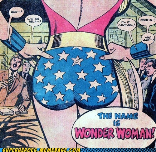 booty Sexy Ladies Straight off the Page wonder woman - 6053775616