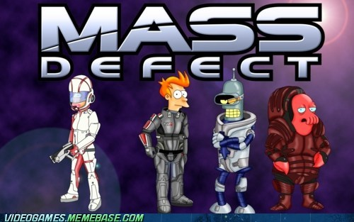 crossover futurama mass effect meme video games Zoidberg
