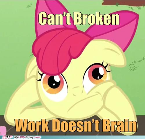 apple bloom borked cartoons meme TV - 6055256320