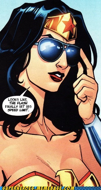 flash pun speed limit Straight off the Page wonder woman - 6056017408
