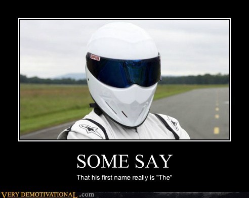 helmet,hilarious,name,the stig,wtf