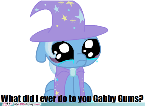 crying gabby gums meme Sad trixie - 6056473088