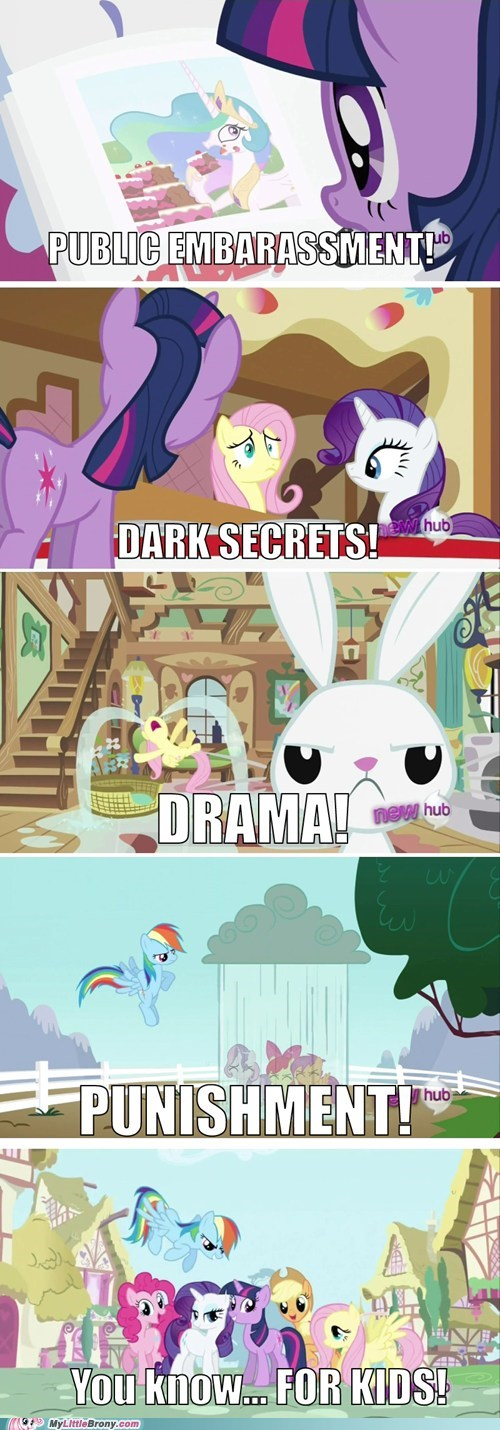 comics drama for kids my little pony ponies