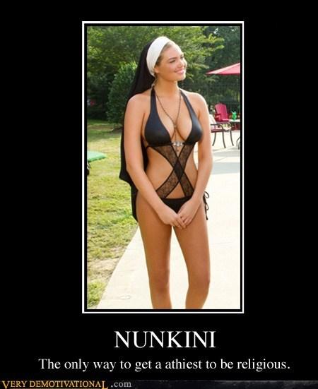 bikini hilarious nun Sexy Ladies wtf - 6057134080