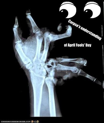 Corpse's understanding of April Fools' Day
