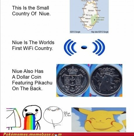 awesome coins currency niue pikachu the internets - 6057351424