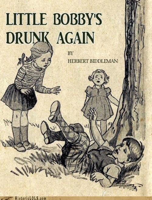book children cover drunk title