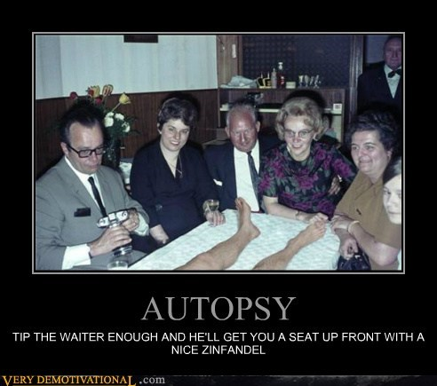 autopsy dead guy hilarious waiter - 6057928960