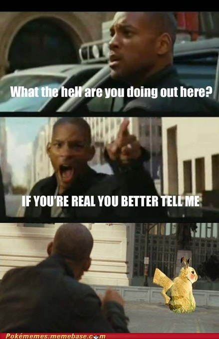 fred,i am legend,meme,Memes,pikachu,will smith