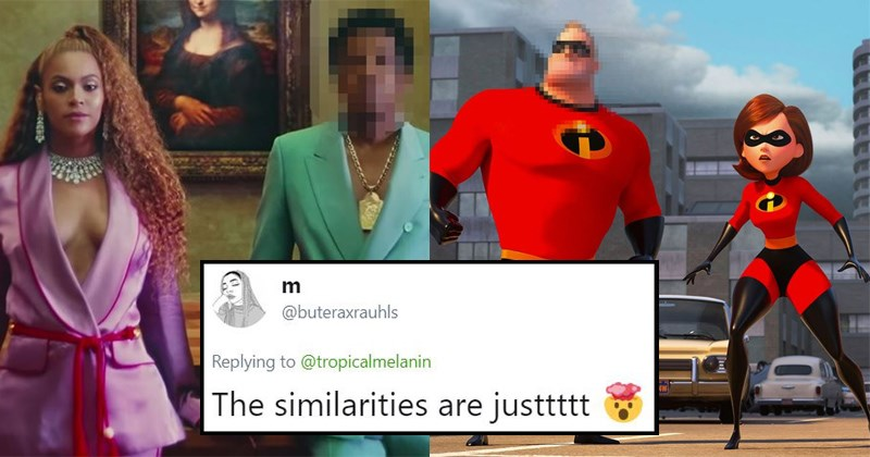wtf hip hop creepy mind blown beyoncé wtf twitter the incredibles pop culture pop music Jay Z the carters - 6058245