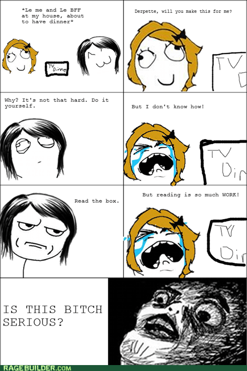 Rage Comics,raisin face,TV dinner,wtf