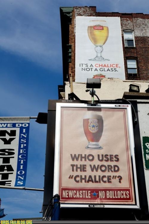 alcohol,beer,bros,chalice,drinking,glass,g rated,Newcastle,stella artois