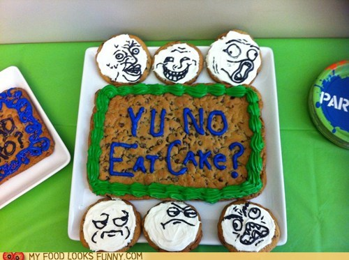 baking cookies rage faces Y U NO - 6059202048