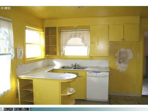 kitchen paint yellow - 6059456000
