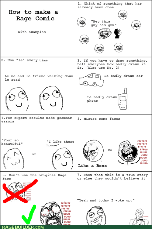 grammar misuse Rage Comics true story