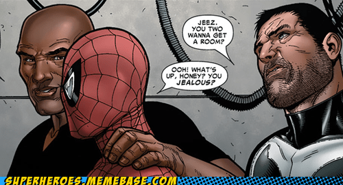 jealous punisher Spider-Man Straight off the Page - 6060241152