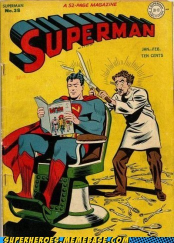 barber scissors Straight off the Page superman - 6060554496