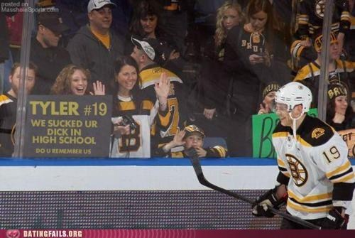 Boston Bruins dating fails Fallatio hockey