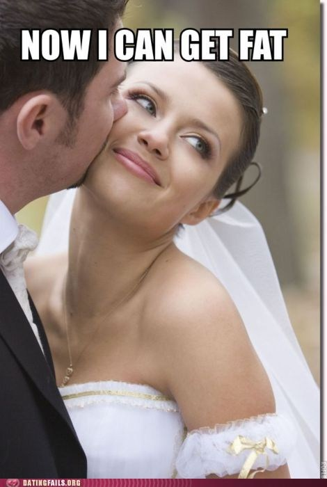 getting married now i can get fat weddings - 6060661504