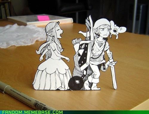 Fan Art legend of zelda link video games zelda - 6060705792