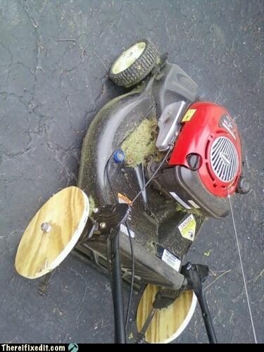 lawn mower wheel wood - 6060803584
