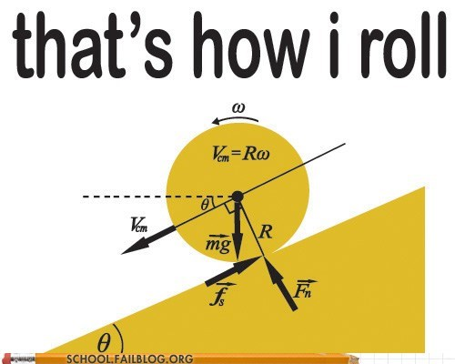 how everything rolls,math,physics,thats-how-i-roll
