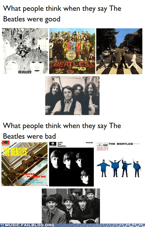 possibly controversial,the Beatles