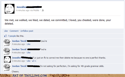 facebook,grammar,perfection,spelling