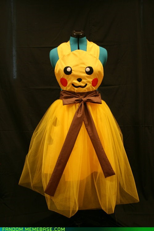 apron Fan Art pikachu Pokémon - 6061076736