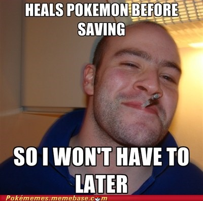 Good Guy Greg,meme,Memes,past self,pokemon center