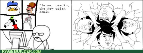 dolan and friends Jackie Chan Rage Comics wtf - 6061393664