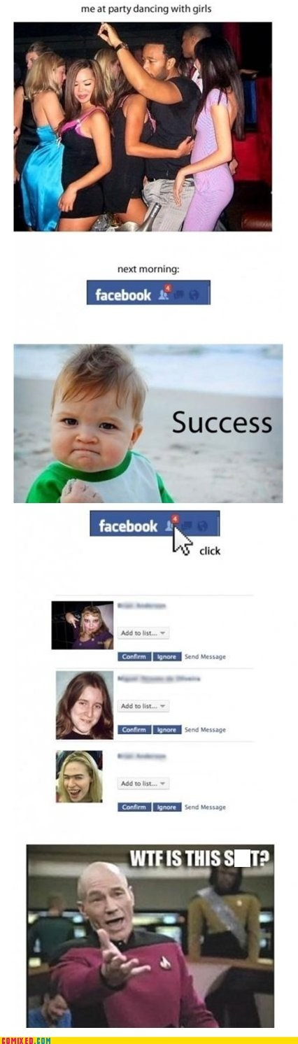 facebook,ladies,success kid,the internets