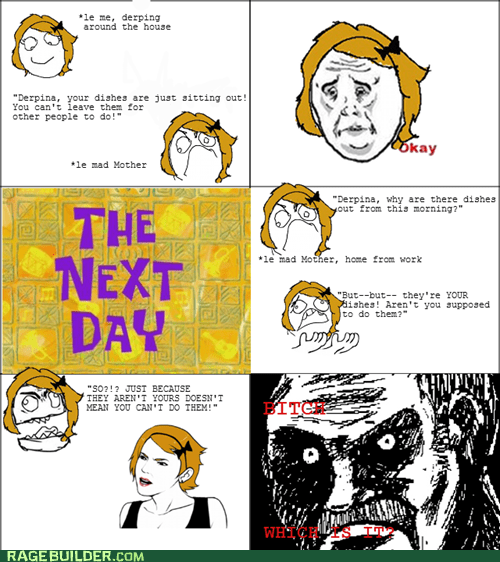 all that racket dishes Okay parenting Rage Comics - 6061448192