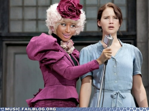 hunger games,nicki minaj