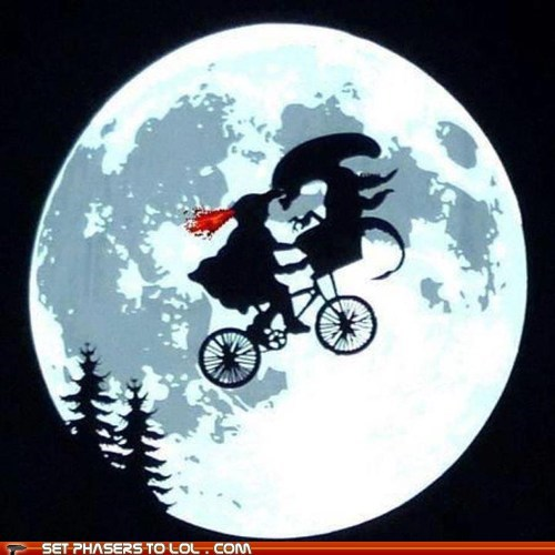 alien,Aliens,best of the week,bike,eliot,ET,moon,xenomorphs