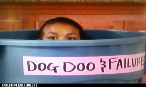 dog doo dumpster failures garbage recycling bin trash trash bin