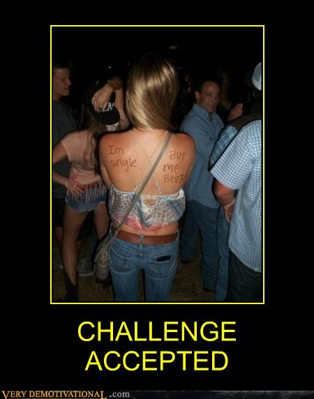 accepted beer challenge hilarious Sexy Ladies single - 6061693696