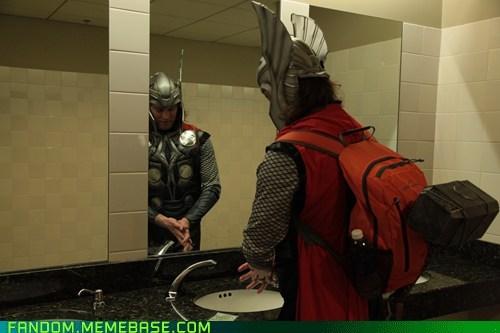 candid cosplay eccc fandom Thor - 6061762816