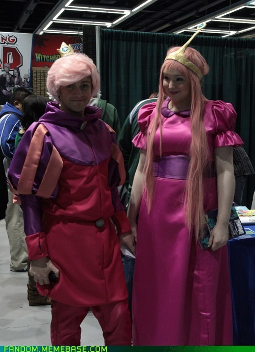 adventure time,cosplay,eccc,prince gumball,princess bubblegum